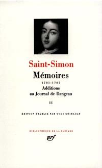Mémoires. Volume 2, 1701-1707
