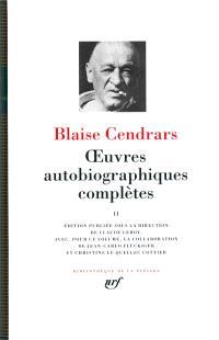 Oeuvres autobiographiques complètes. Volume 2