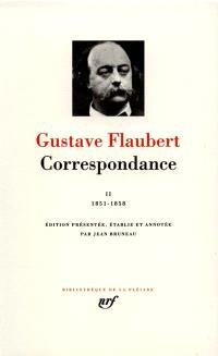 Correspondance. Volume 2, Juillet 1851-décembre 1858
