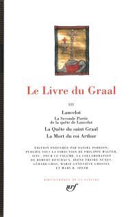 Le livre du Graal. Volume 3