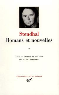 Romans et nouvelles. Volume 2