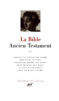 La Bible, Volume 2, Ancien Testament