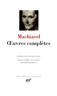Oeuvres complètes; La Mandragore; Le Prince