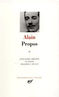 Propos : 1906-1936. Volume 2