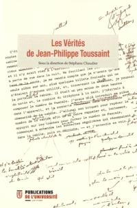 Les vérités de Jean-Philippe Toussaint