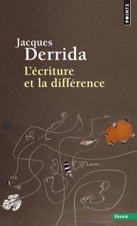 L'écriture et la différence