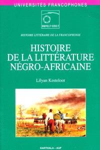 Histoire de la littérature négro-africaine