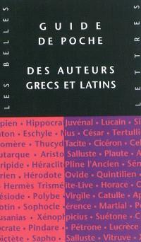 Guide des auteurs grecs et latins