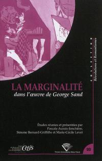 La marginalité dans l'oeuvre de George Sand