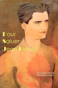 Pour saluer Jean Blanzat