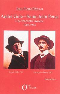André Gide, Saint-John Perse : une rencontre insolite : 1902-1914
