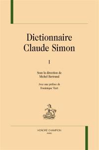 Dictionnaire Claude Simon
