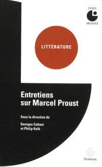 Entretiens sur Marcel Proust : colloque de Cerisy
