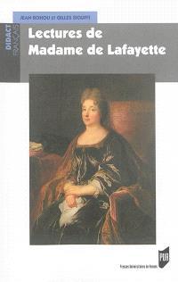Lectures de madame de Lafayette