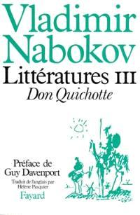 Littératures. Volume 3, Don Quichotte