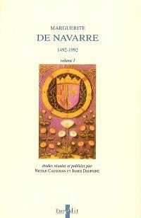 Marguerite de Navarre, 1492-1992 : actes du colloque international de Pau, 1992