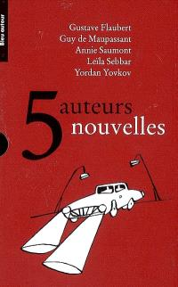 5 auteurs, 5 nouvelles