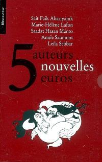 5 auteurs, 5 nouvelles, 5 euros