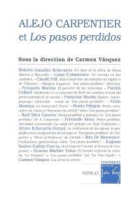Alejo Carpentier et Los pasos perdidos