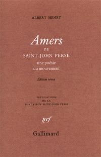 Amers, de Saint-John Perse : une poésie du mouvement