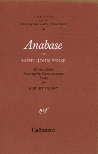 Anabase, de Saint-John Perse