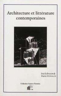 Architecture et littérature contemporaines