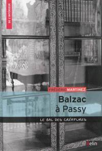 Balzac à Passy : le bal des créatures