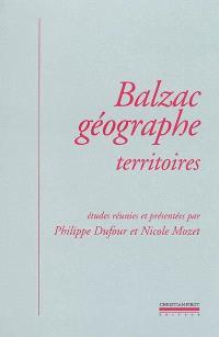 Balzac géographe : territoires