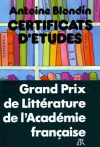 Certificats d'études