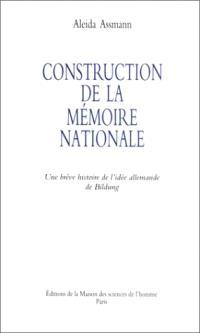 Construction de la mémoire : une brève histoire de l'idée allemande de Bildung
