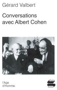 Conversations avec Albert Cohen