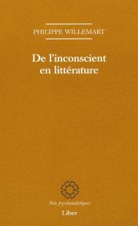 De l'inconscient en littérature