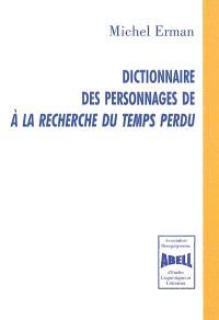 Dictionnaire des personnages de A la recherche du temps perdu