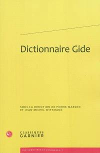 Dictionnaire Gide