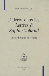 Diderot dans les Lettres à Sophie Volland : une esthétique épistolaire