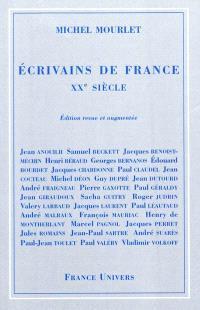 Ecrivains de France, XXe siècle