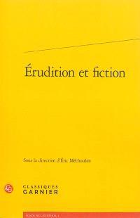Erudition et fiction : troisième rencontre internationale Paul-Zumthor, Montréal, 13-15 octobre 2011
