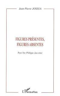 Figures présentes, figures absentes : pour lire Philippe Jaccottet
