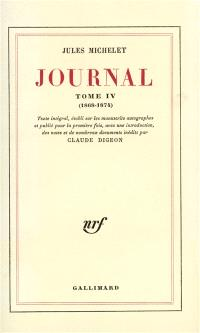 Journal. Volume 4, 1868-1874