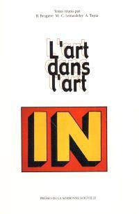 L'art dans l'art : littérature, musique et arts visuels (monde anglophone)