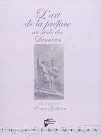 L'art de la préface au siècle des Lumières