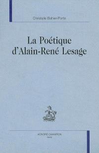 La poétique d'Alain-René Lesage