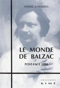 Le monde de Balzac