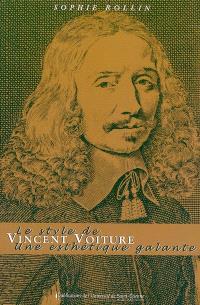 Le style de Vincent Voiture : une esthétique galante