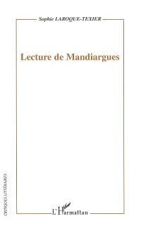 Lecture de Mandiargues