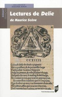 Lectures de Délie de Maurice Scève