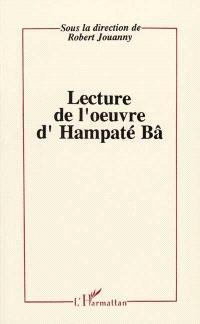 Lectures de l'oeuvre d'Hampaté Bâ