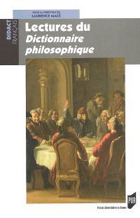 Lectures du Dictionnaire philosophique