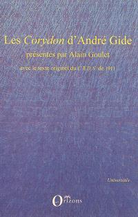 Les Corydon d'André Gide : avec le texte originel du CRDN de 1911