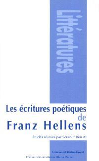 Les écritures poétiques de Franz Hellens